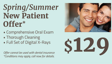 $129 New Patient Exam