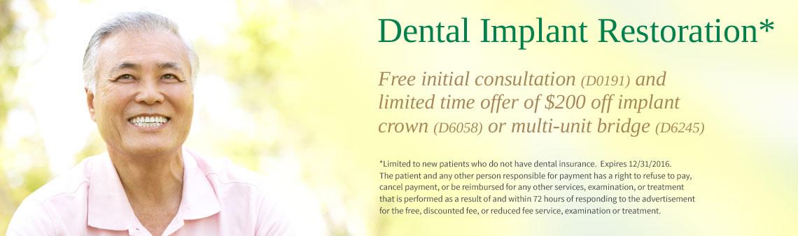 Tampa Implant Restoration Dentist